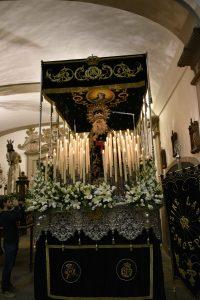 La Iglesia de la Concepción se engalanó en la noche de Lunes Santo