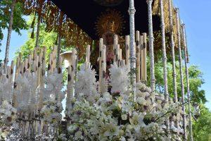 El Domingo de Ramos y la Borriquita abren la Semana Santa de Badajoz 2017