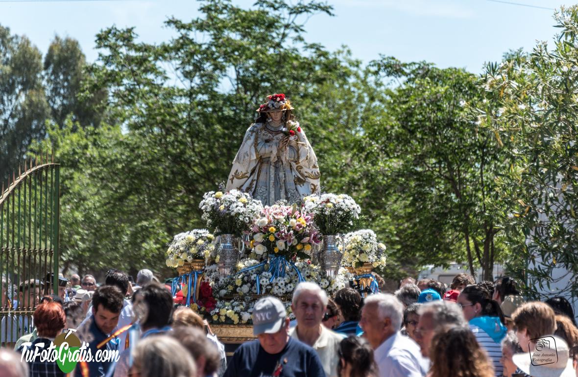 La Virgen de Bótoa celebra su 450 aniversario.