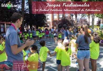 Los juegos tradicionales llegan a Badajoz de la mano de los grupos internacionales del Festival Folclórico