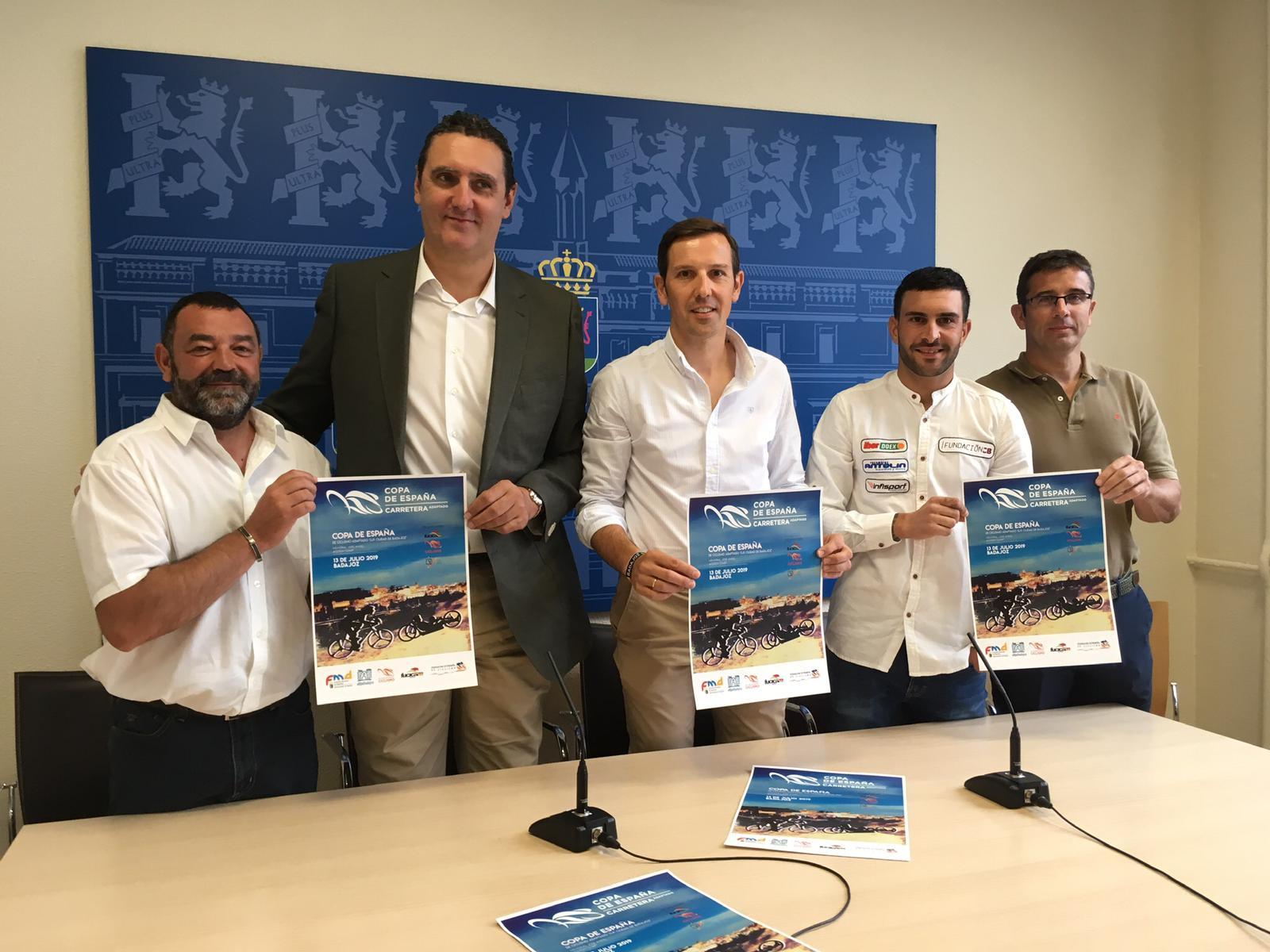 Presentación del Campeonato de España de Ciclismo Adaptado