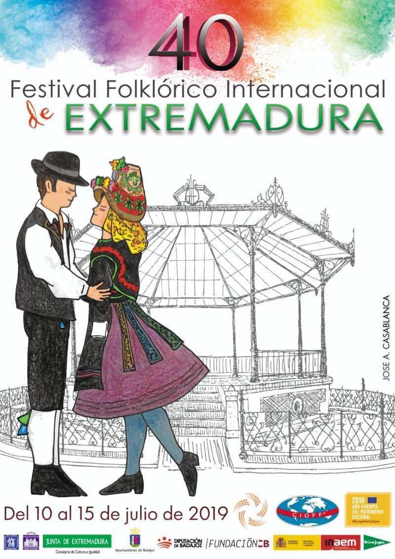 40 FESTIVAL FOLKLÓRICO INTERNACIONAL DE EXTREMADURA